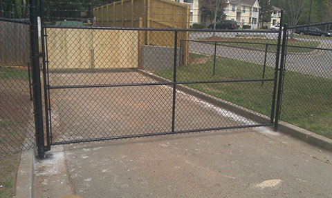 Chain Link Fencing Installation Privacy Viking Fence