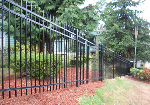 Ornamental Aluminum Fencing Installation Viking Fence Of