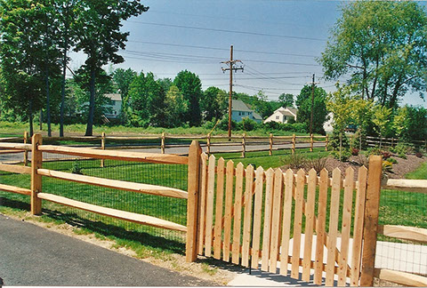 Wood Fence Installation Privacy Decorative Viking